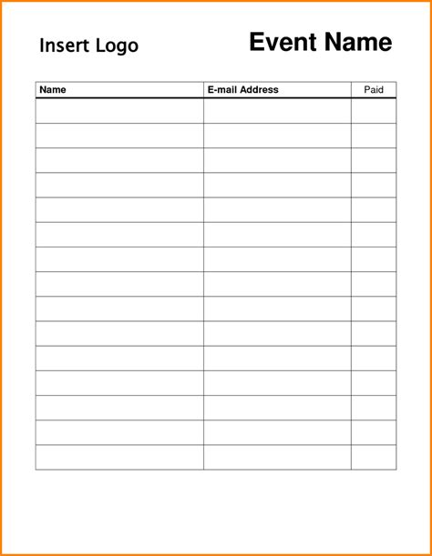 dd 3 5 template list attractive blank event sign up sheet template with 3