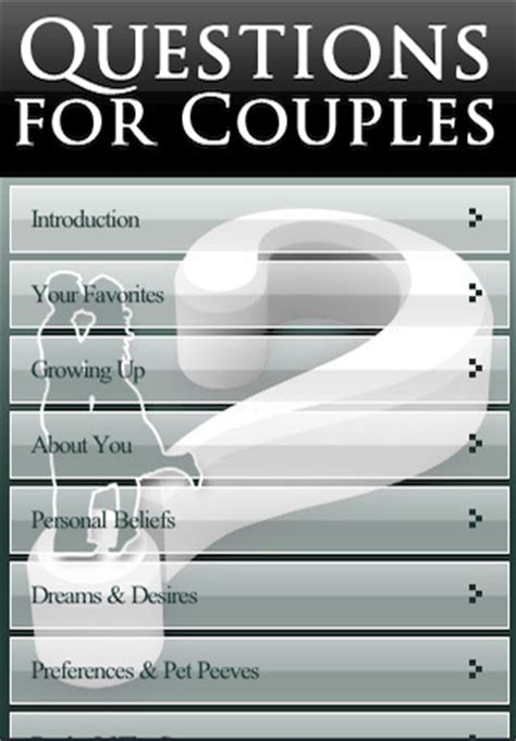 Or Questions For Couples Questions For Couples App For Iphone Education