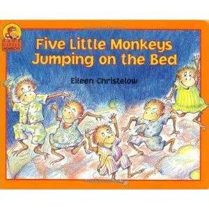 five little monkeys jumping on the bed book pinterest the world s catalog of ideas