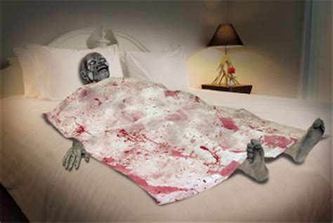 the death of where to get cheap bedroom furniture where life size bloody zombie death bed body part horror prop