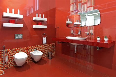 Bagno Mosaico Rosso by Come Scegliere I Sanitari In Base All Estetica Ed Al