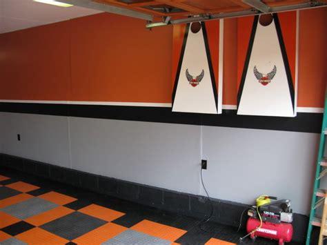 harley davidson garage craftsman garage columbus by custom storage solutions llc