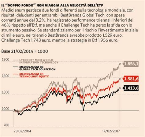 mediolanum investimenti fondi azionari tecnologia tre gestori reggono il