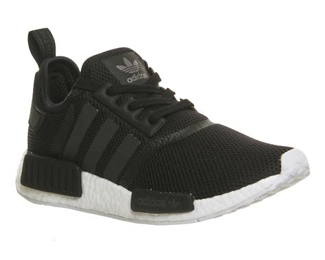 Nmd R1 Primeknit New Silhoutte Black Burgundy 100 Original Adidas adidas nmd runner black white his trainers