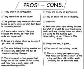 Pros And Cons Of Wearing School Uniforms Essay by Lazy And Livid May 2010