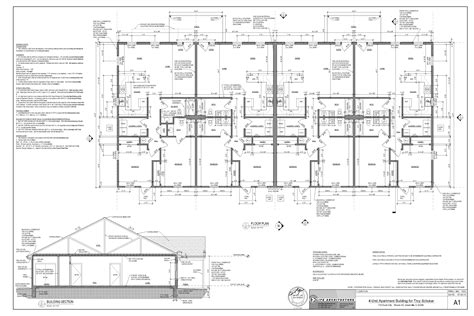 Quad Plex Plans 20 stunning quadplex plans home building plans 12017