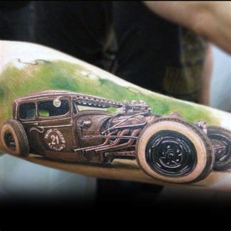 rat rod tattoos designs best 25 rod ideas on v8