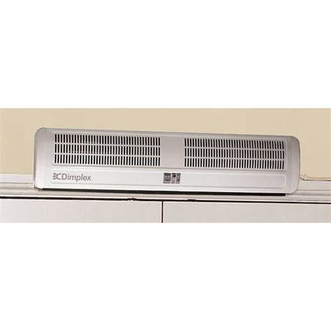 door curtain heater dimplex ac6n 6kw air curtain over door heater ebay