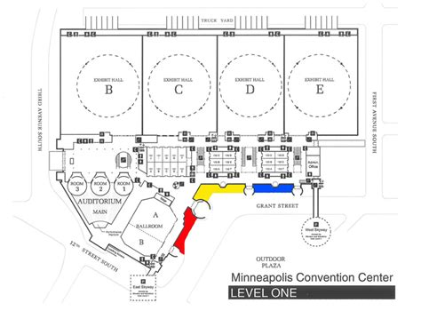 Minneapolis Convention Center Floor Plan 21 amazing minneapolis convention center map swimnova com