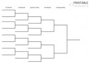 tournament bracket template printable tournament bracket