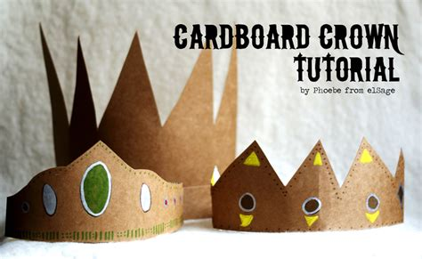 How To Make Paper Crowns For - made by joel 187 guest post cardboard crown tutorial