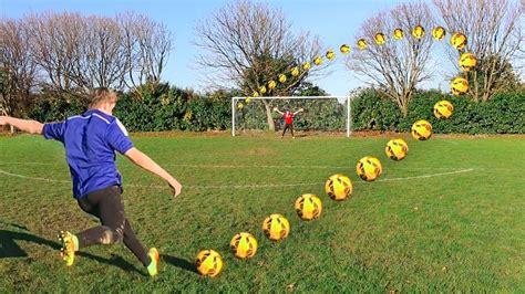 best goals the best goal in a football challenge doovi