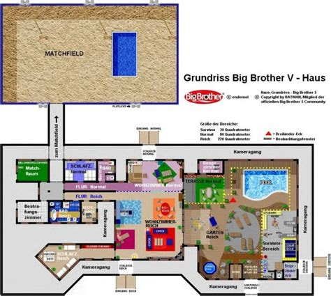 big brother house layout uk big brother 5 germany
