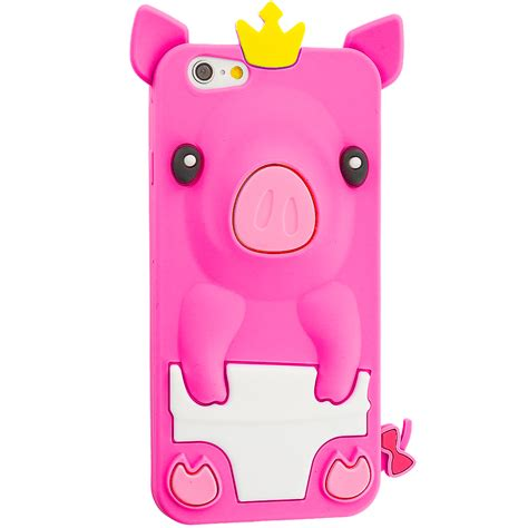 for iphone 6s 4 7 silicone 3d animals rubber protective skin cover ebay