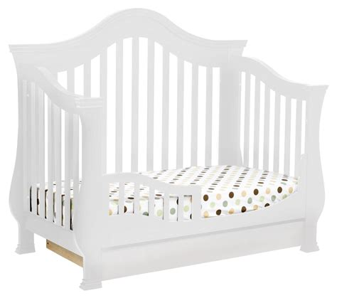 Million Dollar Baby Classic Ashbury 4 In 1 Convertible Crib Million Dollar Baby Ashbury 4 In 1 Convertible Crib With