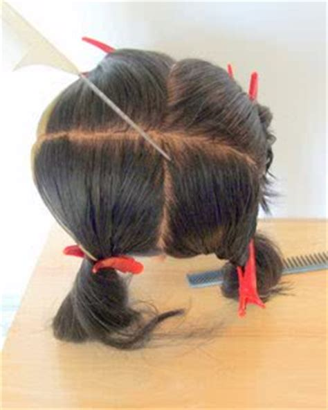 how to section hair relaxers how to minimise the risk of hair loss when