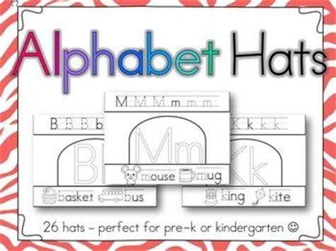 printable alphabet hats alphabet hats learning letters