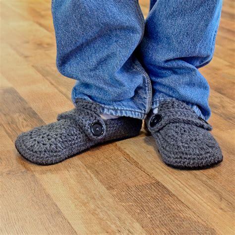 pattern crochet mens slippers crochet slippers for men http lomets com