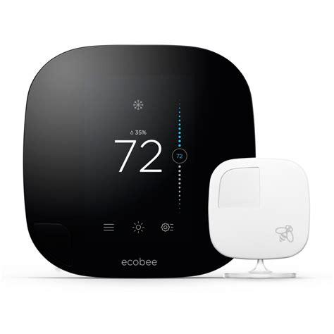 room thermostat with remote sensor brand new ecobee3 wi fi thermostat with remote sensor plus additional 2 sensors ebay