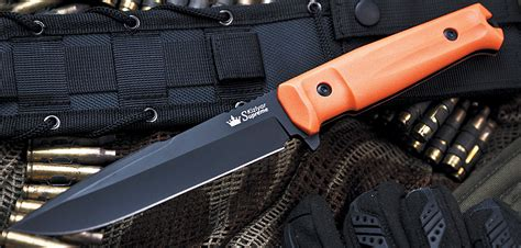 New Tactical Delta Black delta tactical knife in d2 with black titanium and orange