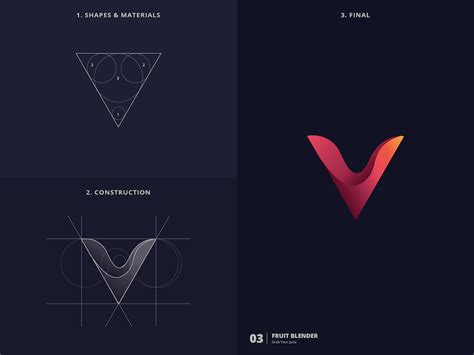 design logo using golden ratio designer challenges himself to create 25 logos in 25 days