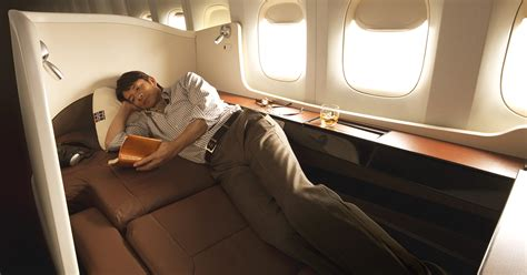 Best Air Beds First Class Inflight And Lounge Services Jal