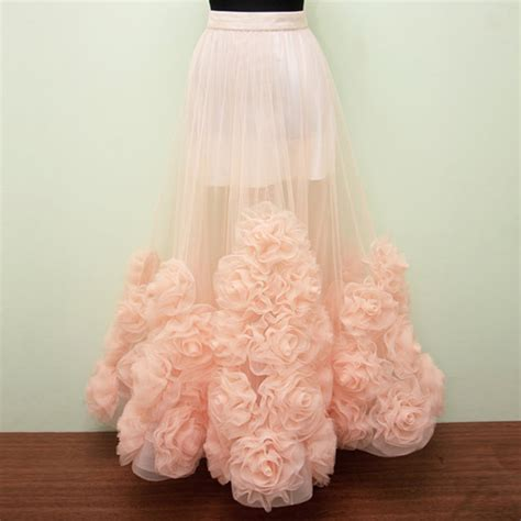 Handmade Skirts - aliexpress buy high quality flower handmade