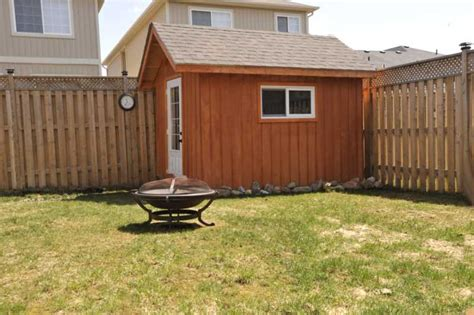 Air Conditioned Storage Shed by Orangeville Semi Detached 3 Bedroom Home For Sale
