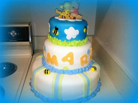 Pooh Baby Shower Cakes by Pooh Baby Shower Cake Cakecentral