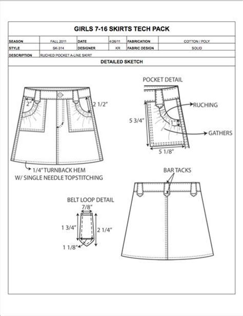 pattern grading childrenswear 32 best fashion apparel tech pack templates images on