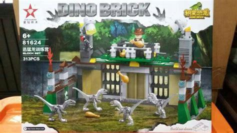 Hadiah Mainan Anak Block Lego Blocks My World 92pc Sy704a jual dino brick jurassic world raptor cage blocks lego