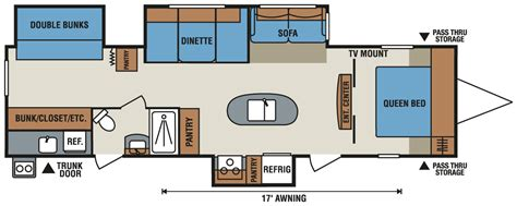 spree rv floor plans 2017 kz rv spree connect travel trailer floorplans vr