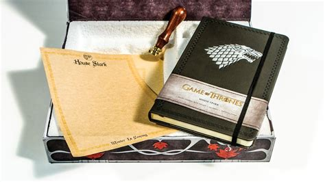 game of thrones desk accessories galleon game of thrones house stark deluxe stationery