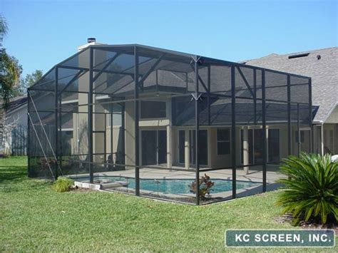 screens for patio enclosures winter park screen and patio enclosures kc screen