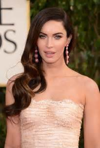 Bullock s long down hairstyle look flawless with side swept curls
