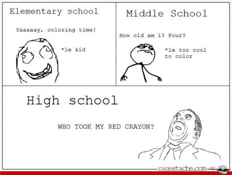 Middle School Memes - yeah middle schoolers are just like this and then high
