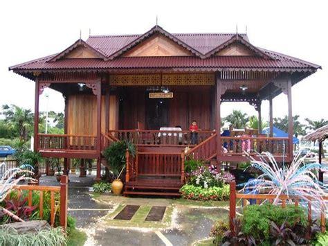 rumah rumah tradisional di malaysia rumah limas houses pinterest