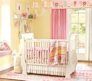 Pottery Barn Metal Bed Nice Pink Bedding For Pretty Baby Nursery From