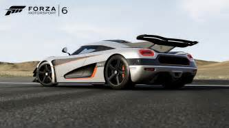 One Cars Koenigsegg One 1 Joins Forza 6 On Xbox