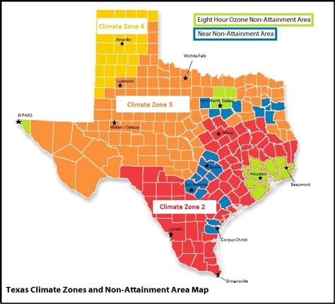 climate map texas international residential code irc bluegill energy