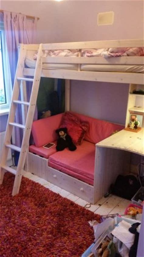pull out bunk bed high sleeper bunk bed with desk and pull out sofa bed for sale in knocklyon dublin from craigmcf