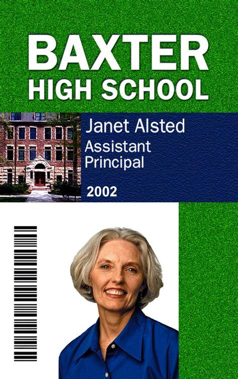 High School Id Card Template by Id Card Printing Service Plastic Card Printing Custom