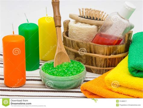 bathroom candles and accessories bathroom accessories royalty free stock photography image 31486617
