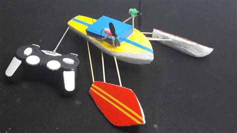 how to make a paper rc boat how to make a airboat rc tutorial diy rc boat rigger