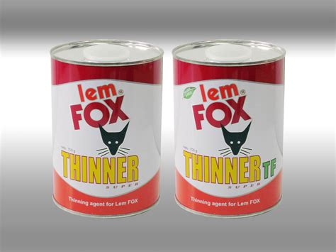 Lem Fox Lem Fox Thinner And Thinner Tf Pt Aica Indria