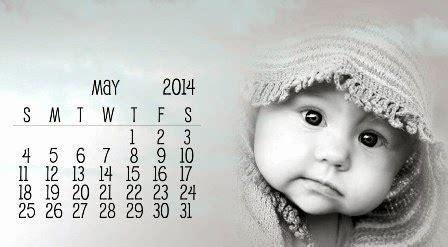Baby Calendar 2014 Lena Hoschek Baby 2014 Calendar Free Baby New Year
