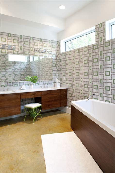 mid century modern bathroom design 16 beautiful mid century modern bathroom designs that are