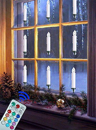 christmas window candles remote coolest 20 candles with batteries