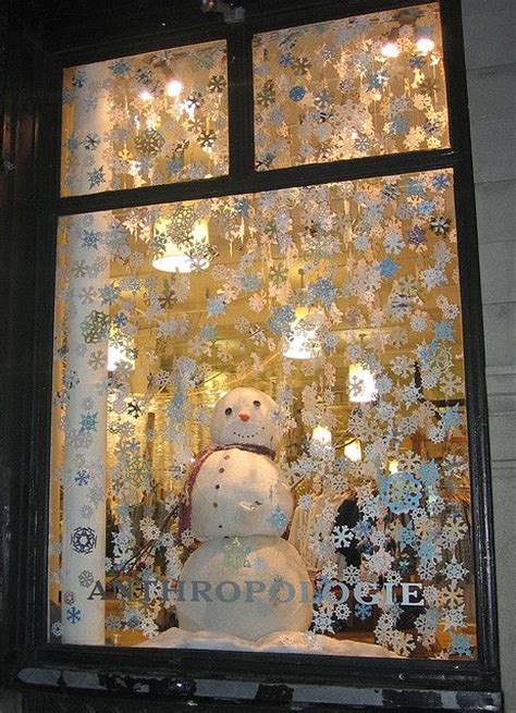 anthropologie holiday windows christmas pinterest