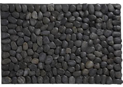 modern doormats pebble mat modern doormats by cb2